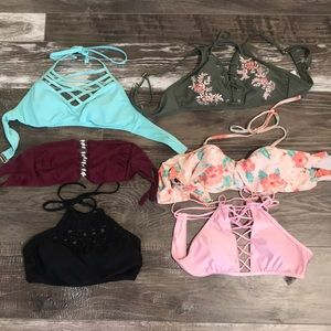 Other - 6 bathing suit tops !!